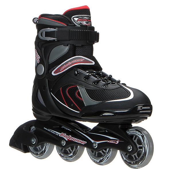 Bladerunner Pro 80 Inline Skates, Black-Red, 600