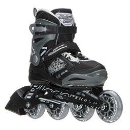 Bladerunner Phoenix Adjustable Kids Inline Skates 2017, Black-Silver, 256