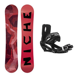 Niche Knew Stealth 3 Snowboard and Binding Package, , 256