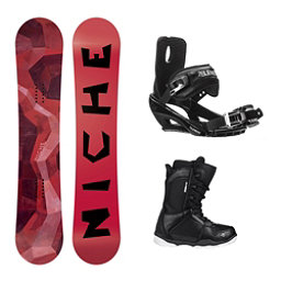Niche Knew Wide ST-1 Complete Snowboard Package, , 256