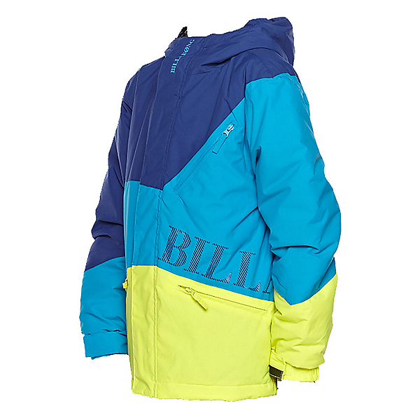 Billabong Buddy Boys Snowboard Jacket, Bubble Blue, 600
