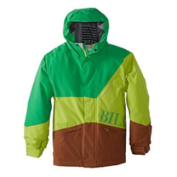 Billabong Buddy Boys Snowboard Jacket, Poison Green, 256