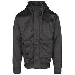 Billabong Launch Zip Mens Hoodie, Black, 256