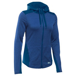 Under Armour Gamut FZ Womens Hoodie, Heron-Aqua Falls, 256