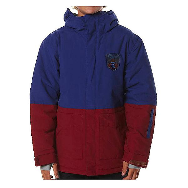 Billabong Twoblock Boys Snowboard Jacket, Sodalite Blue, 600