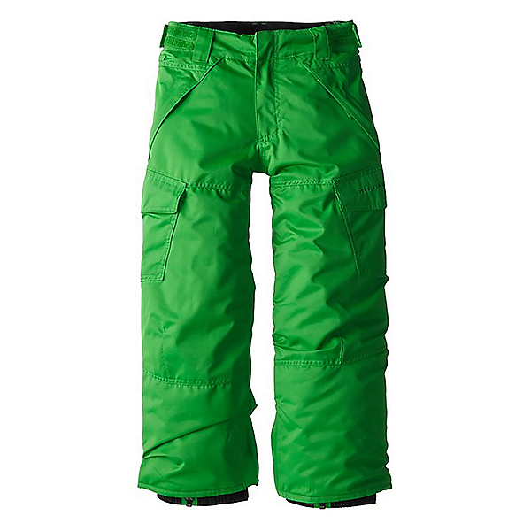 Billabong Cargo Boys Kids Snowboard Pants, Kelly Green, 600