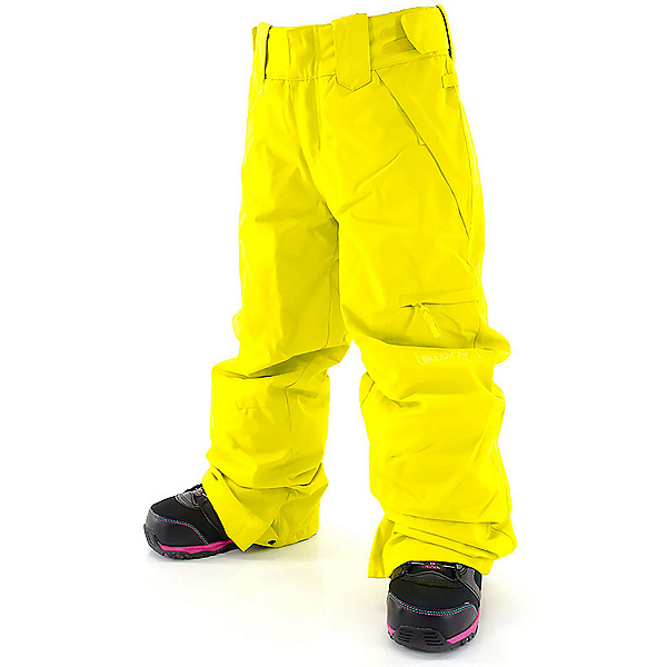Billabong Twisty Girls Snowboard Pants, Acid Yellow, 600