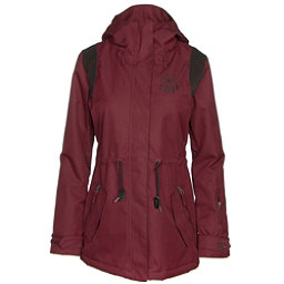 Billabong Anderson Womens Jacket, Black Cherry, 256