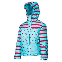 Billabong Tzuega Girls Snowboard Jacket, Blue Radiance, 256