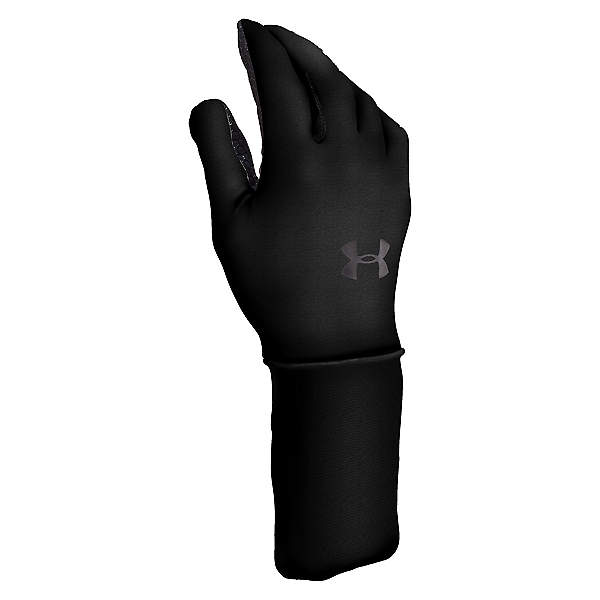 Under Armour Coldgear Liner Glove Liners, Black-Charcoal, 600