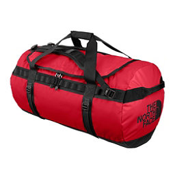 The North Face Base Camp Large Duffel Bag, TNF Red-TNF Black, 256