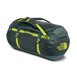 The North Face Base Camp Large Duffel Bag, Darkest Spruce-Silver Pine Gre, 256