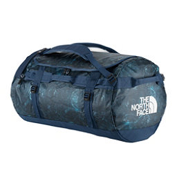 The North Face Base Camp Duffel - Large Bag (Previous Season), Cosmic Blue Blueprint Print, 256