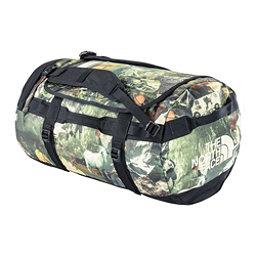 The North Face Base Camp Duffel - Medium Bag (Previous Season), Sepia Brown Hiker Print, 256