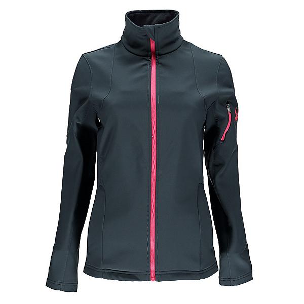 Spyder Fresh Air Womens Soft Shell Jacket, Depth-Bryte Pink, 600