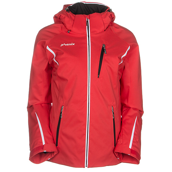 Phenix Orcha Womens Insulated Ski Jacket, Red, 600