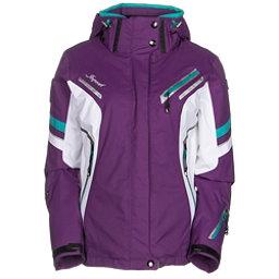 Icepeak Tiffany Womens Insulated Ski Jacket, Purple, 256
