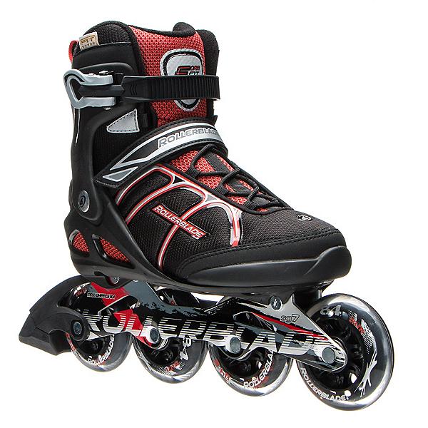 Rollerblade Macroblade 84 ALU Inline Skates, Black-Red, 600
