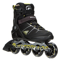 Rollerblade Macroblade 80 ALU Inline Skates 2017, Black-Yellow, 256