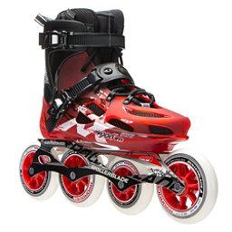 Rollerblade Maxxum 100 Urban Inline Skates 2017, Red-Black, 256