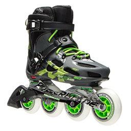 Rollerblade Maxxum 90 Inline Skates 2017, Anthracite-Green, 256