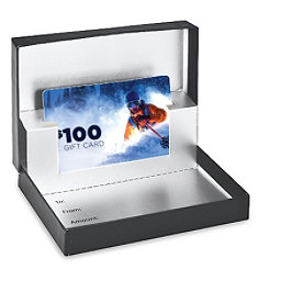 Skis.com Gift Card, $100, 256