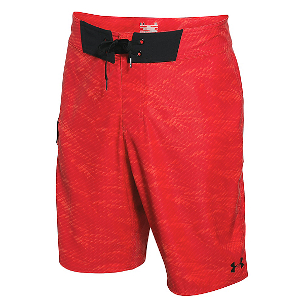 Under Armour Reblek Mens Board Shorts, Rocket Red-Rocket Red, 600
