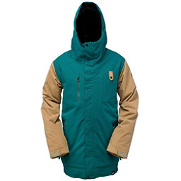 Ride Laurelhurst Mens Insulated Snowboard Jacket, Pine Twill, 256