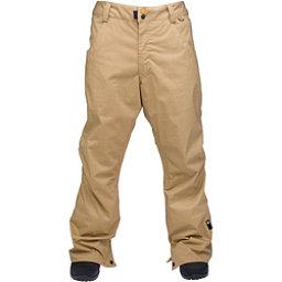 Ride Madrona Mens Snowboard Pants, Dark Khaki Herringbone, 256