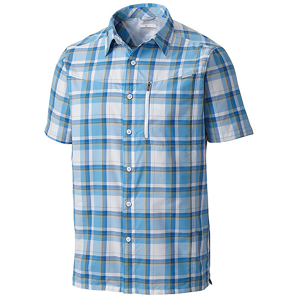 Columbia Silver Ridge Plaid Mens Mens Shirt, , 600