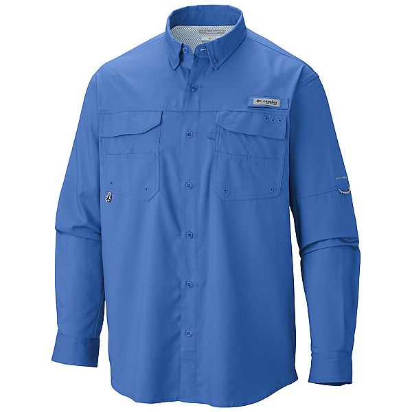 Columbia PFG Blood And Guts III Long Sleeve Mens Shirt, , 600
