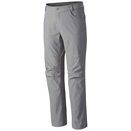 Columbia Pilsner Peak Mens Pants, Grey Ash, 256