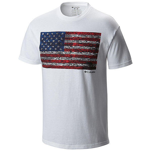 Columbia CSC Tree Flag Mens T-Shirt, , 600