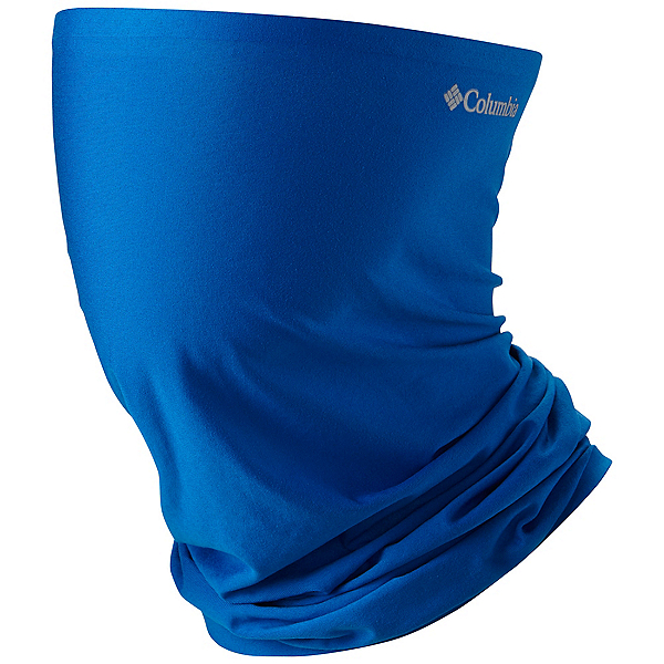 Columbia PFG Freezer Zero Neck Gaiter, Super Blue-Columbia Grey, 600