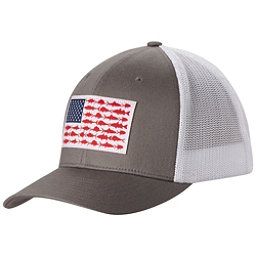 Columbia PFG Mesh Hat, Titanium-Fish Flag, 256