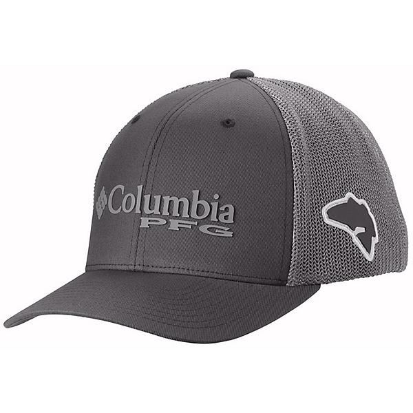 Columbia PFG Mesh Hat, Grill-Cool Grey-Bass, 600