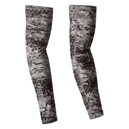 Columbia PFG Freezer Zero Arm Sleeves, Charcoal Digi Print, 256
