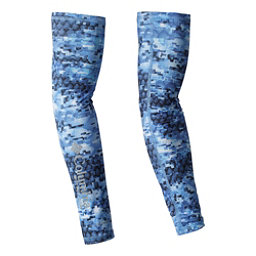 Columbia PFG Freezer Zero Arm Sleeves, Vivid Blue Digi Scale, 256