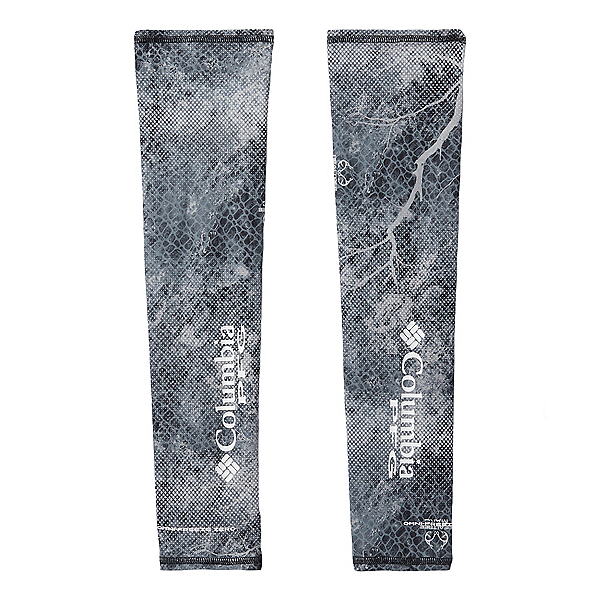 Columbia PFG Freezer Zero Arm Sleeves 2020, Black Mako, 600