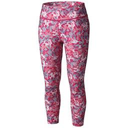 Columbia Trail Bound Capri Tight Womens Pants, Haute Pink Cloudy Camo, 256