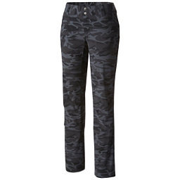 Columbia Saturday Trail Printed Womens Pants, Black Camo, 256