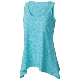 Columbia Outerspaced Womens Tank Top, Ocean Water, 256
