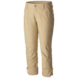 Columbia Pilsner Peak Capri Womens Pants, Lion-Oxford, 256