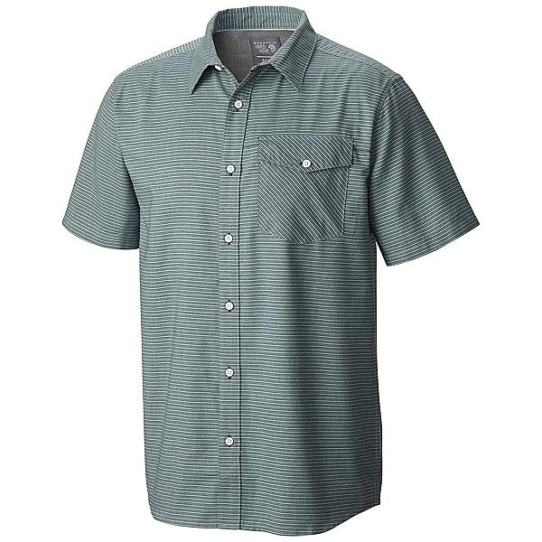 Mountain Hardwear Drummond S/S Mens Shirt, Dark Forest, 600