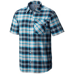 Mountain Hardwear Drummond S/S Mens Shirt, Hardwear Navy, 256