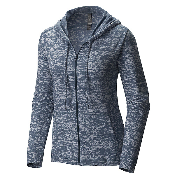 Mountain Hardwear Burned Out Full Zip Womens Hoodie, , 600