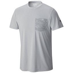 Mountain Hardwear River Gorge S/S Crew Mens Shirt, Grey Ice, 256