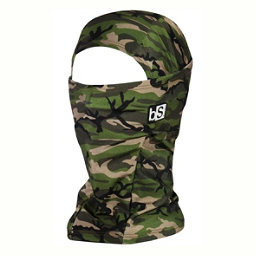 BlackStrap The Hood Balaclava, Army Olive, 256