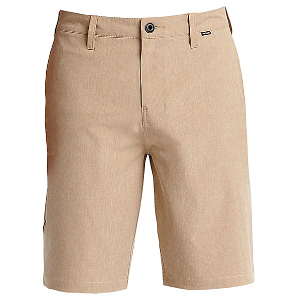 Hurley Phantom 21 Inch Walk Mens Hybrid Shorts, Khaki, 600