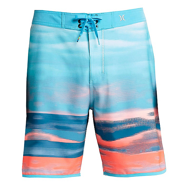 Hurley Phantom Julian Mens Board Shorts, Beta Blue, 600